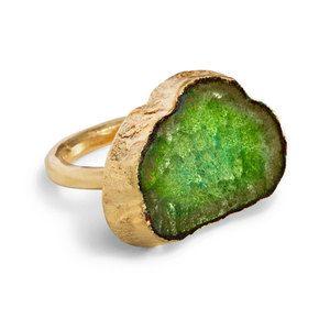 Plasma Cut Ring Avocado