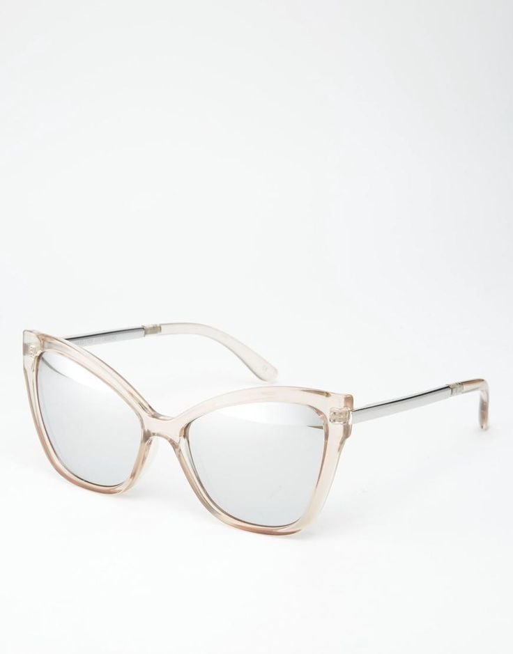 Le Specs | Le Specs Naked Eyes Mirror Sunglasses at ASOS