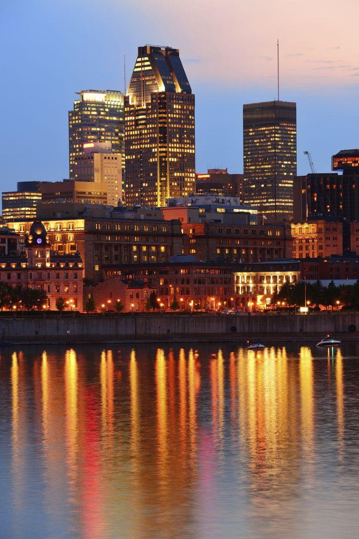 #Montreal skyline in #Quebec