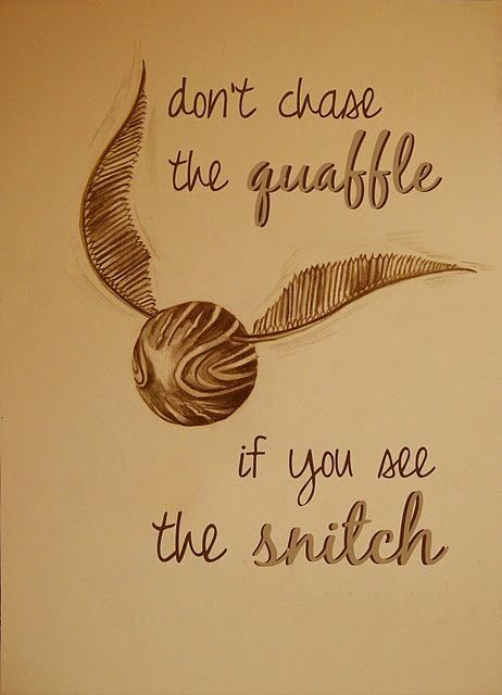 || Don't chase the quaffle if you see the snitch ||                                                                                                                                                     Más