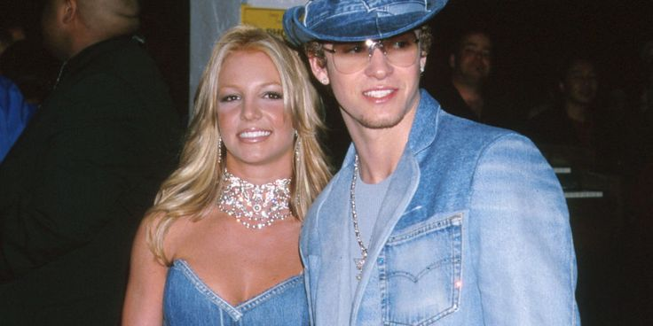 14 years later, Britney Spears honors her double denim moment with Justin Timberlake.