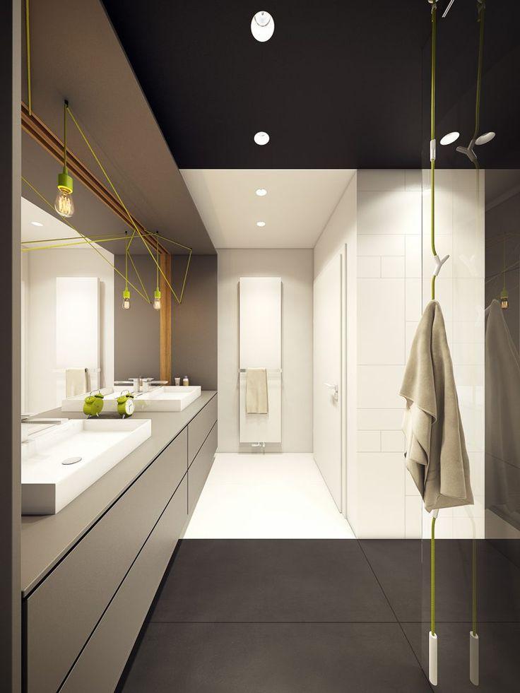 Die besten 25+ Modernes badezimmerdesign Ideen auf Pinterest - modernes badezimmer design
