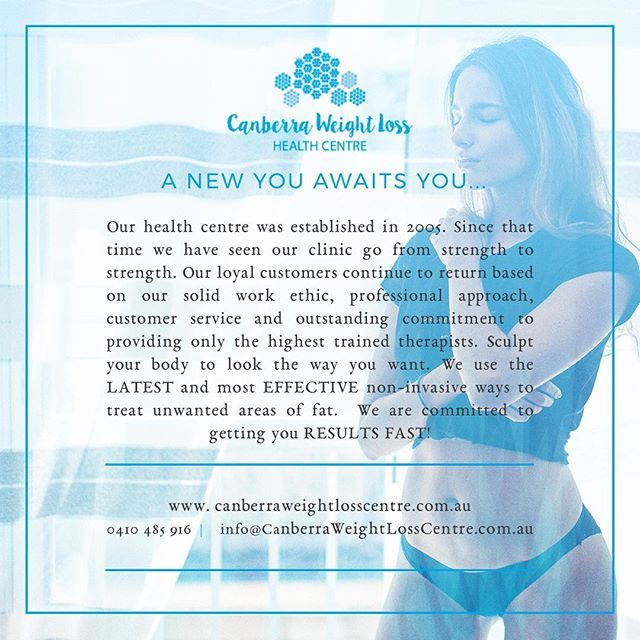 Freeze fat away with the latest technology at the Canberra Weightloss Centre #weightloss #fatloss #cryolipolysis #cbr #newme