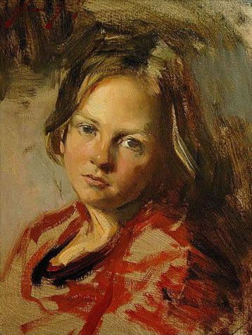 oil portraits of children | Marcus Hodge Portrait Image Loading...
