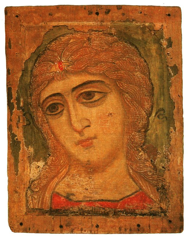 XII в. Архангел  (так называемый Златые власа).