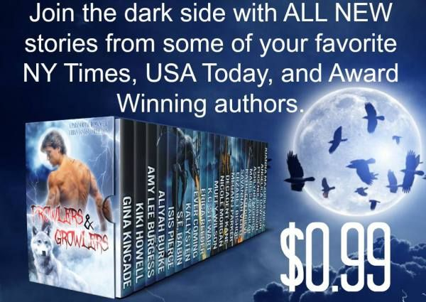 This special99 centprice goes up this week so grab your copy now and dont miss out!!  Join the dark side with ALL NEW stories from some of your favorite NY Times USA Today and Award Winning Bestselling authors.  Step into the shadows with witches werewolv