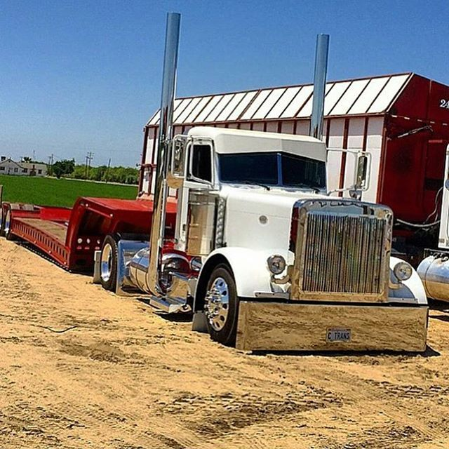 Custom Single Axle Trucks : Best images about low and slow on pinterest semi
