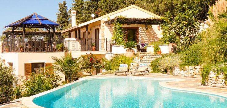 A luxurious holiday villa in a secluded, peaceful location with easy access to the coast. Enjoy stunning, panoramic views of beautiful Corfu and experience it's vibrant culture.