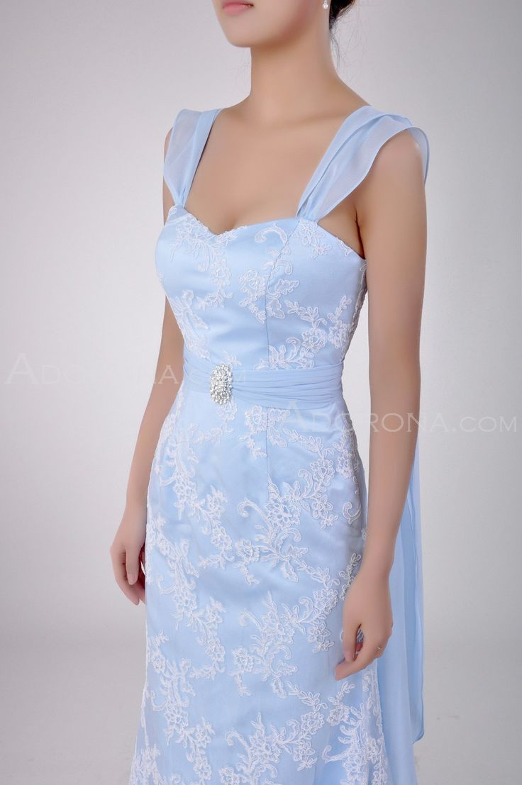 Wedding Dresses Color Baby Blue : Baby blue wedding dress google search pintere