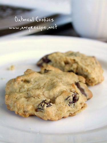 オートミールクッキーの作り方 : カリフォルニアのばあさんブログ
