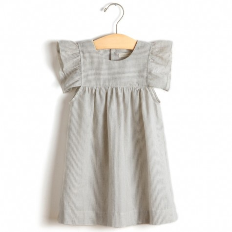 little lief ruffle sleeve dress by Sweet William