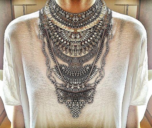 dylanlex stacked neckpiece
