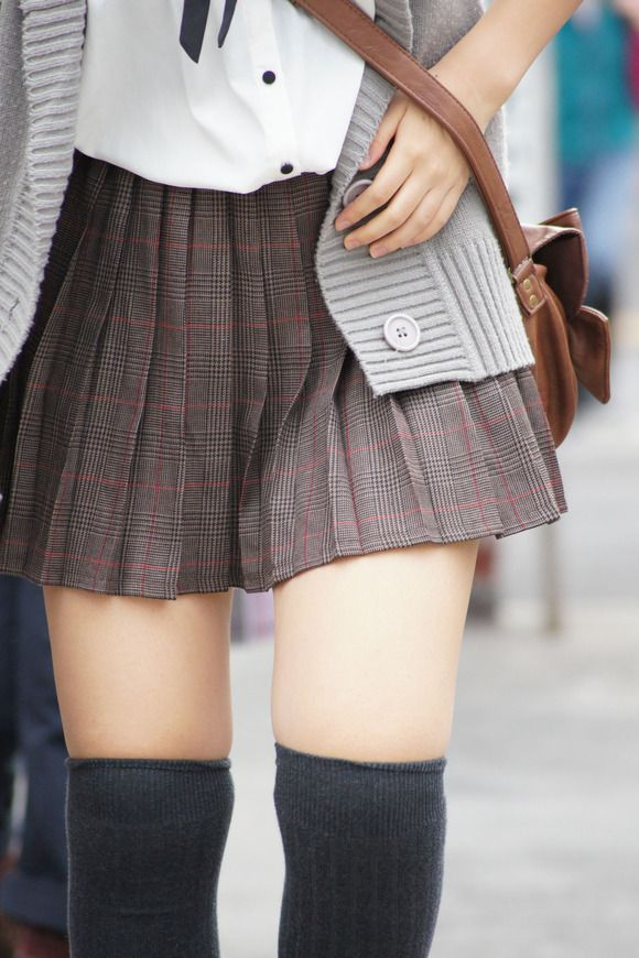 love the socks and skirt, but sadly im almost too old to dress like a school girl these days