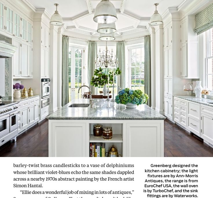 Ann morris antiques cabinet white kitchen fittings by waterworks like ceiling and floors