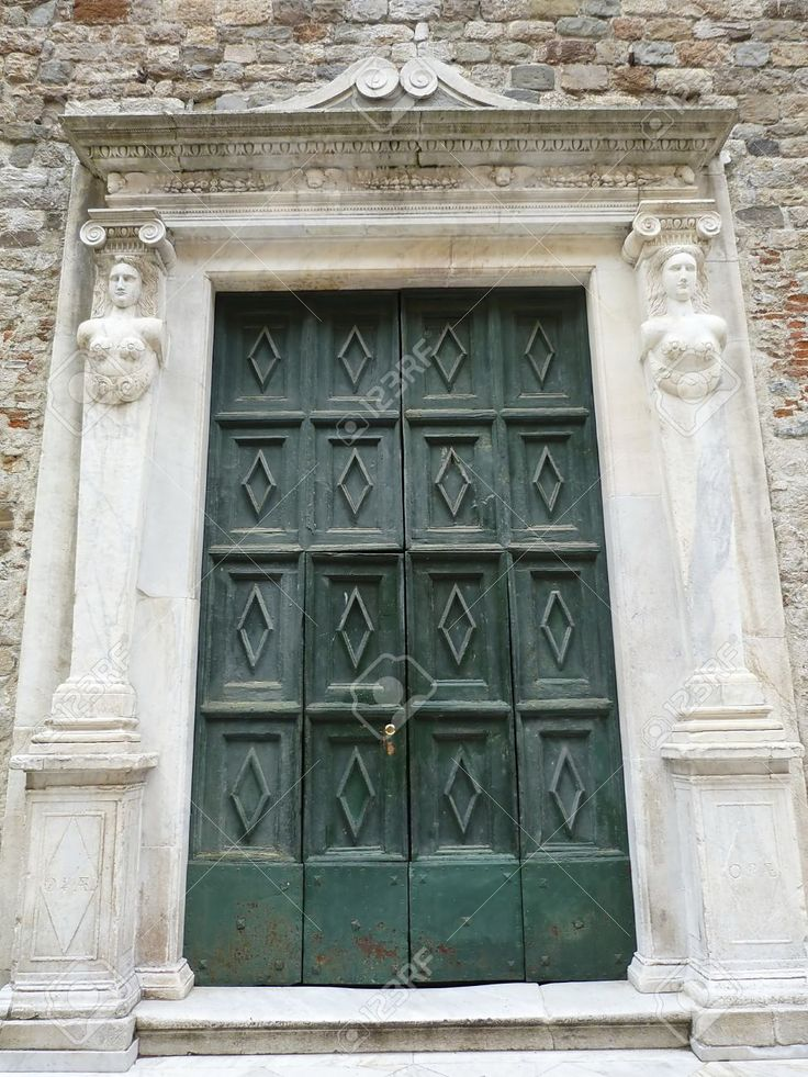 Italy, Sarzana, Portal Of The Parish Of St Andrew Stock Photo, Picture And Royalty Free Image. Pic 14719991.