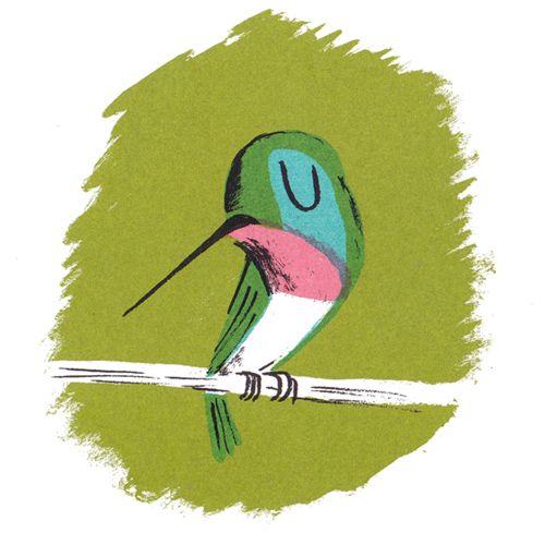 HECTOR AND HUMMINGBIRD by Nicholas John Frith. Alison Green Books, United Kingdom, 2015