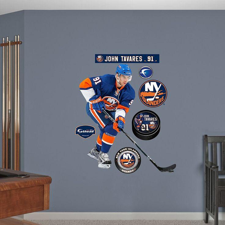 Fathead New York Islanders John Tavares Wall Decals, Multicolor