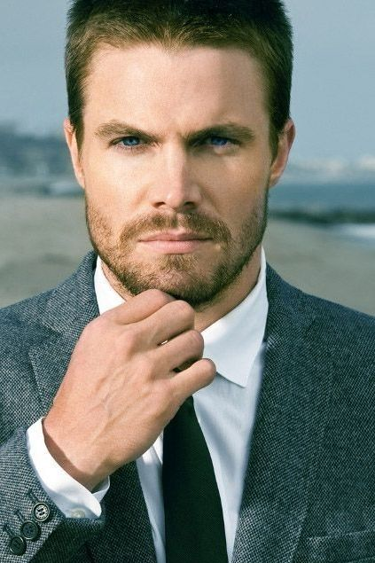 So over having crushes on fictional characters...   Stephen Amell- Arrow