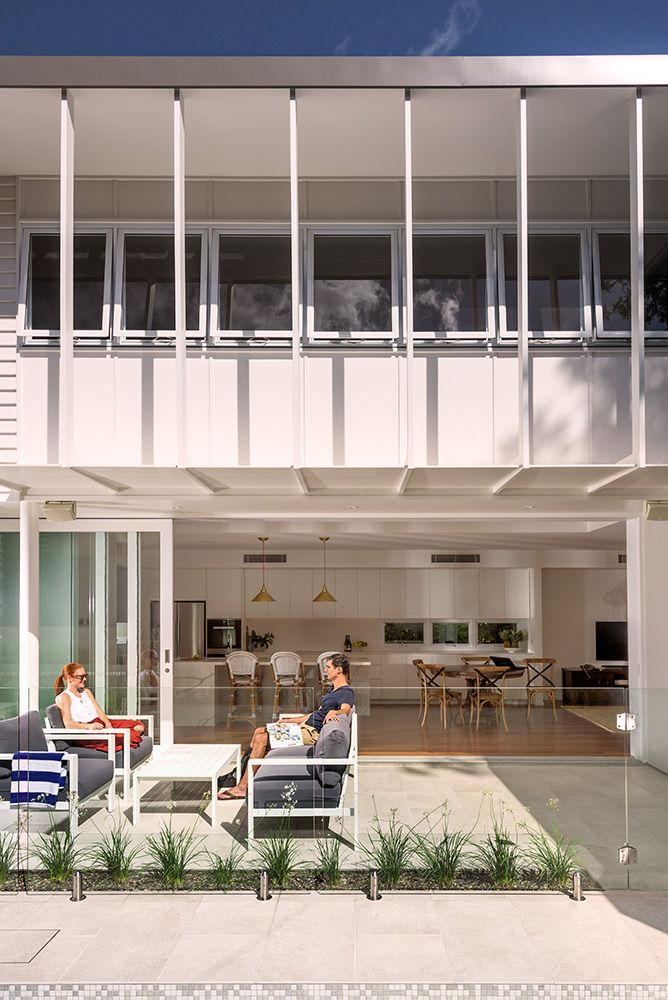 Coorparoo Renovation | Poolside Living | Queensland Australia | Smith Architects