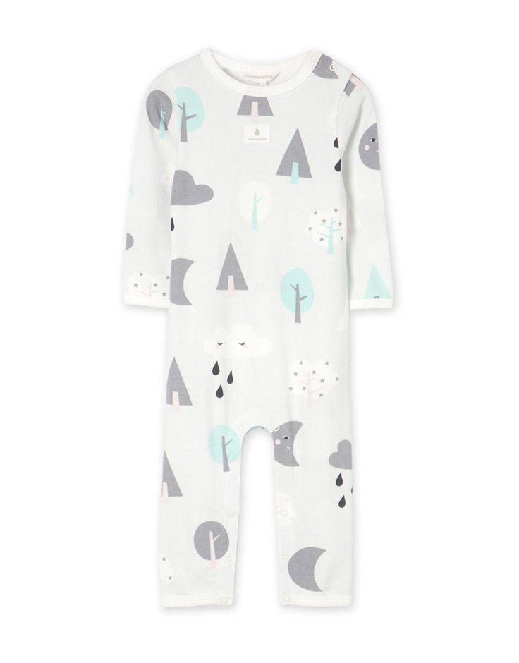 Cloud & Moon Jumpsuit - too cute!