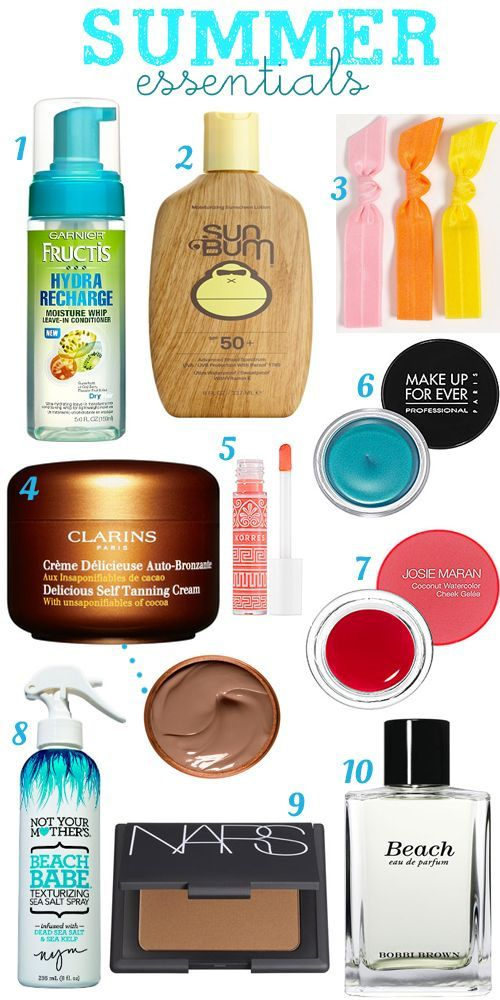 Makeup Essentials Must Haves From Makeup Artists Part 1: Best 25+ Summer Essentials Ideas On Pinterest