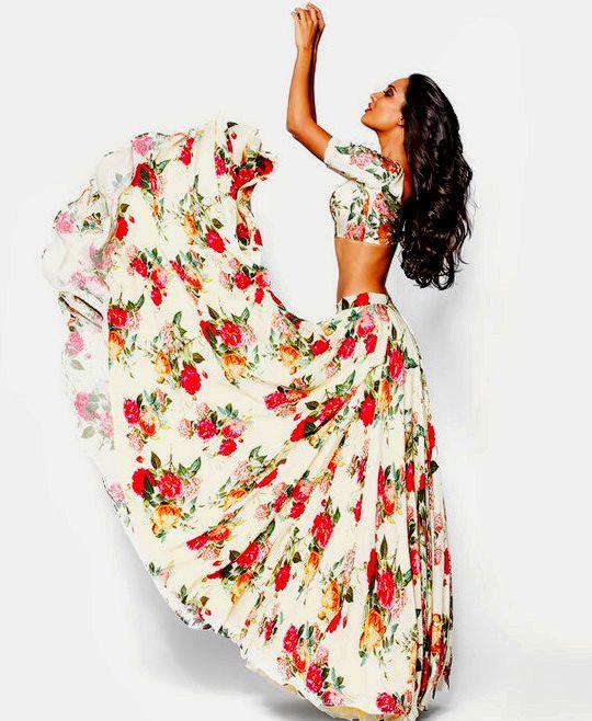 Lisa Haydon for Sunaina Puri Winter 2014