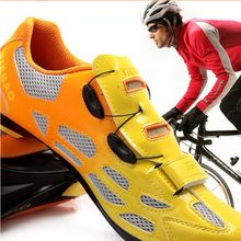 Caliente venta 2015 de la alta calidad de la bicicleta zapatos por carretera de montaña de carreras zapatos de carreras hombre mujer MTB sapato(China (Mainland))