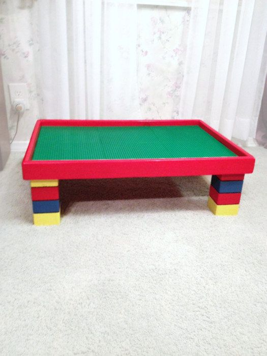 Large Activity Table for Kids - Children's Playroom Furniture - Childs ActivityTable