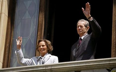 Queen Ana (Anne) and King Mihai (Michael) of Romania