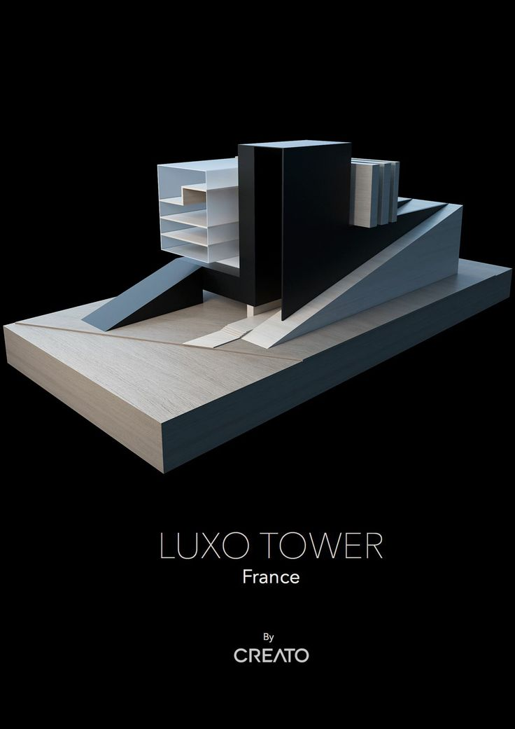 LUXO TOWER  in Evian #tower #architect #project #amazing #facade #apartments #lake #luxury #ultramodern #ultracontemporary #creato