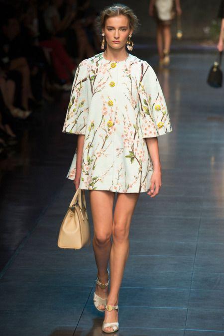 Dolce & Gabbana Spring 2014 Ready-to-Wear #MFW