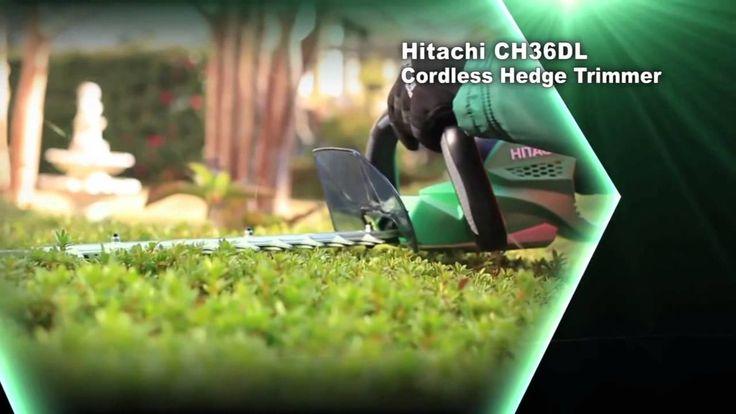 Hitachi serie cordless 36 V con batterie al litio