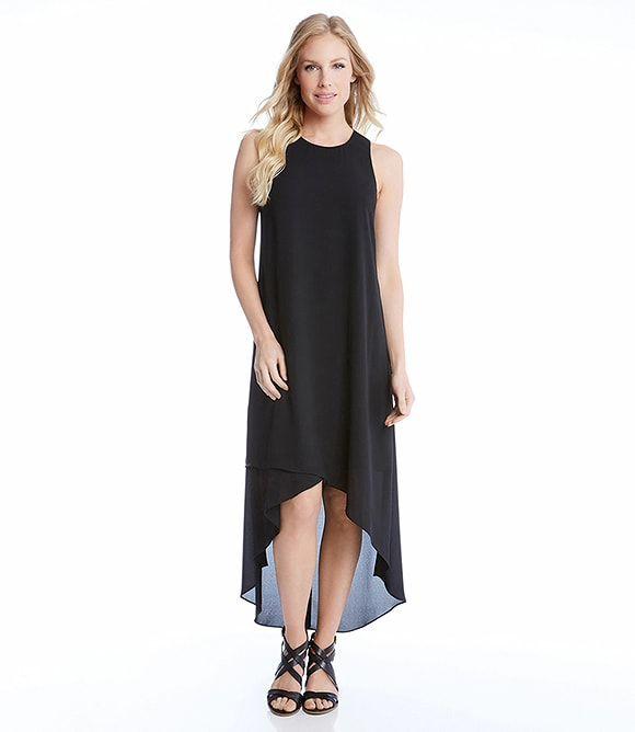 Karen Kane Asymmetric High Low Dress -  - S, M, L, XL, XS