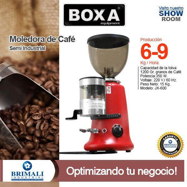 Ahora en nuestro #ShowRoom  Máquina profesional de #café de #molienda marca BOXA ®. Se ajusta automáticamente el espesor y prepara el más exquisito café para tus comensales. Escríbenos a: ventas@brimaliindustrial.com.pe Correo directo: ventas@brimaliindustrial.com.pe