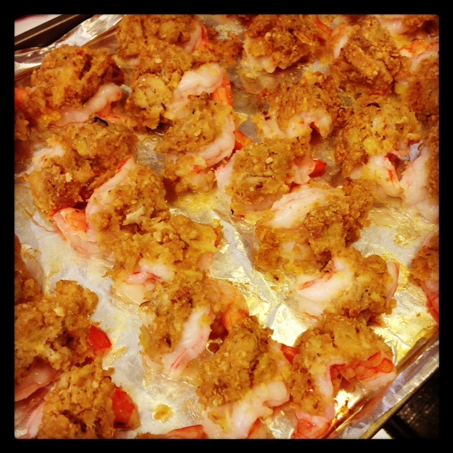 Baked Stuffed Shrimp with Fresh Crabmeat and Ritz Cracker Crumbs