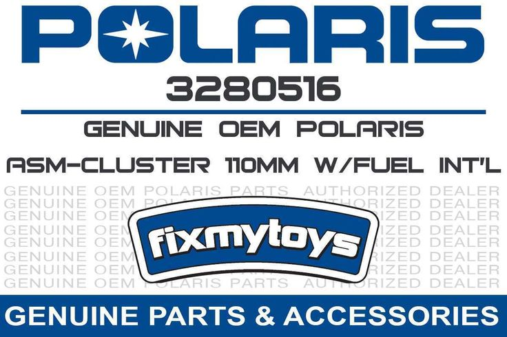 3280516 OEM Polaris ASM-CLUSTER 110MM W/FUEL INT'L