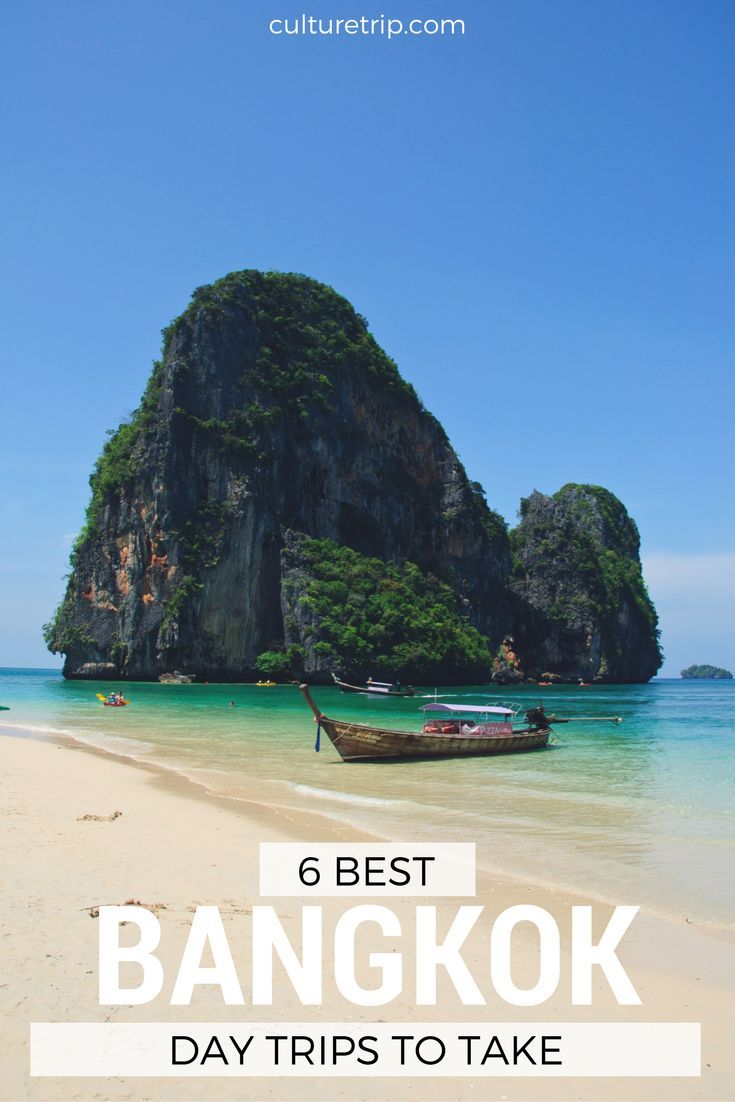 The 6 Best Day Trips From Bangkok by The Culture Trip // ©Mark Fischer