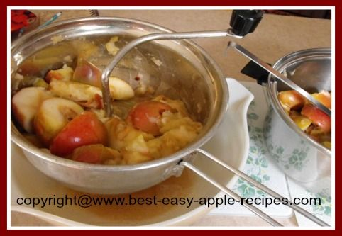 Applesauce Recipe Using Foley Food Mill