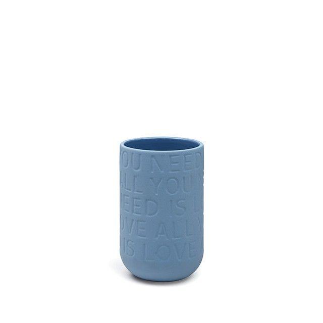 Love Song Vase Indigo Small