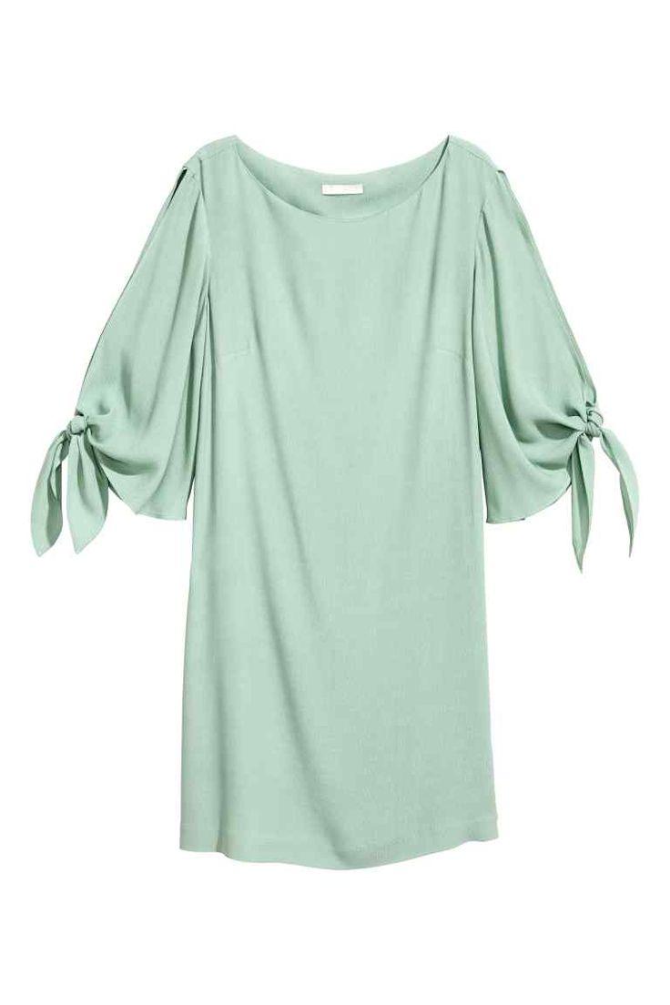 Krátké šaty - Peprmintová - ŽENY | H&M CZ