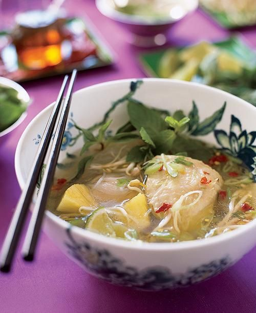 It doesn't get much more comforting than chicken soup. Make a big pot, set it on a table along with a bunch of different toppings, and let your guests transform their servings into one of these flavorful one-dish wonders. Jennifer Rubell shows you how.