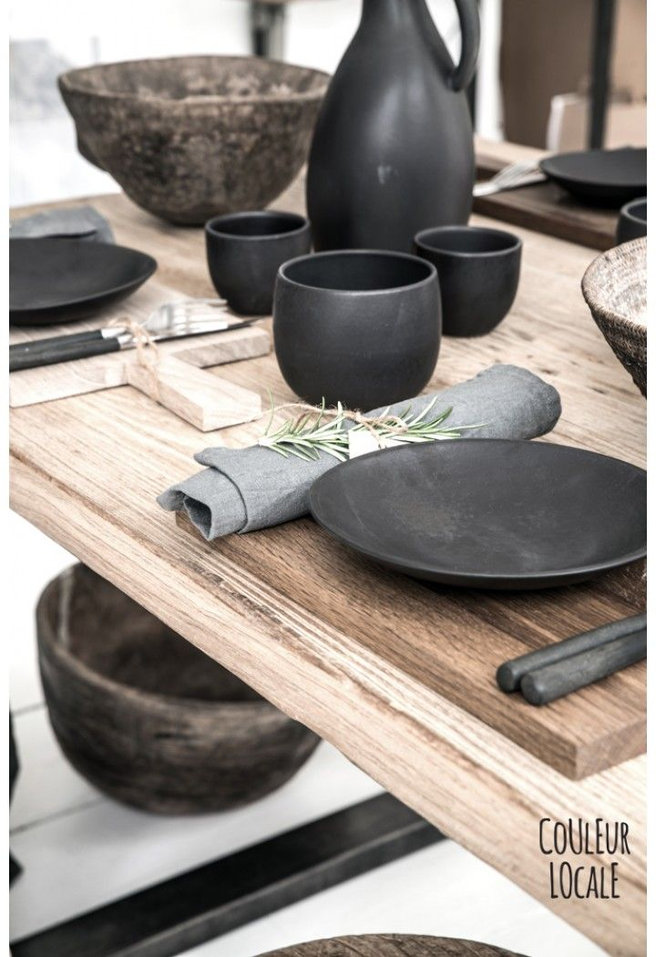 Black Ceramics by Nelson Sepulveda - Kitchen - Home Decoration