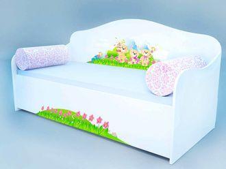 """Кровать диван """"Мишки на оьдыхе"""""""