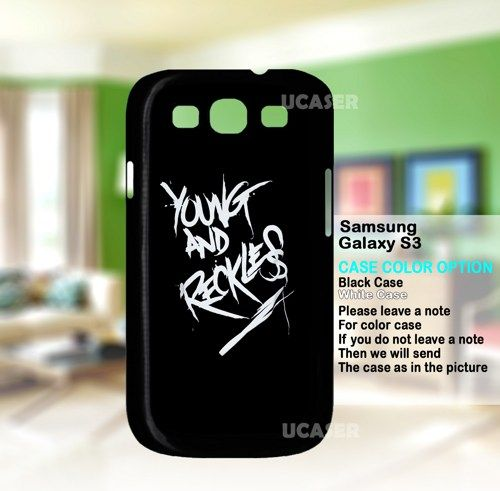 Young and Reckless Art Logo - For Samsung Galaxy S3 Case | uCaser - Accessories on ArtFire