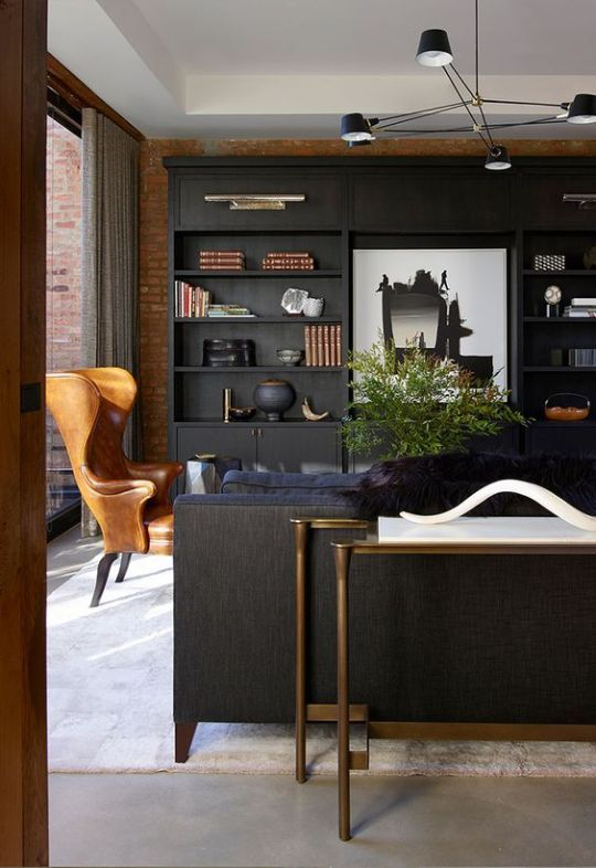 Pin by One Kings Lane on COLOR Black in 2018 Pinterest Office