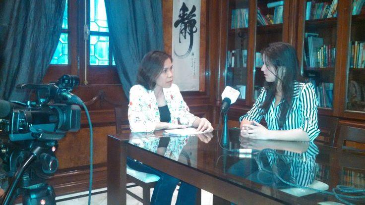 Entrevista a la periodista Vanina Fattori para la Agencia Vietnamita de Noticias VNA. Se puede acceder en idioma español a la actualidad de Vietnam en: es.vietnamplus.vn/