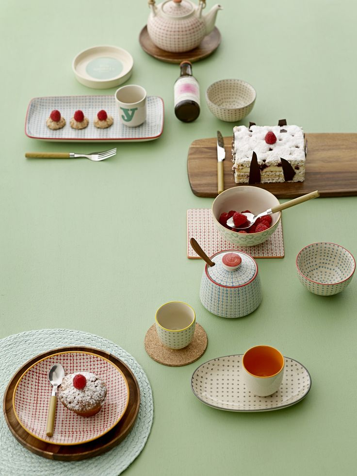 Tableware from Bloomingville SS15 collection.