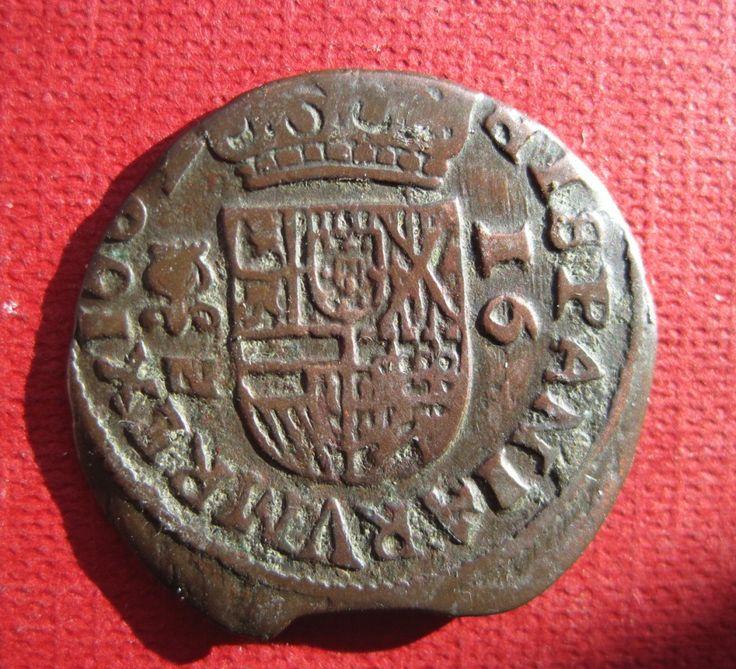 16 Maravedís 1662 Granada