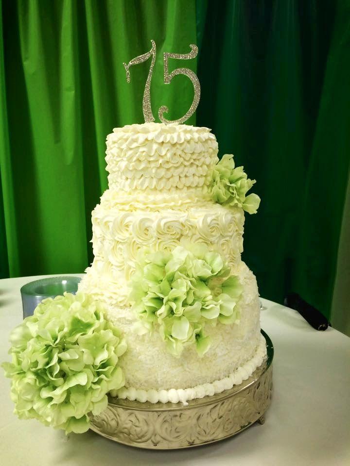 Cakes by gigi mothers 75th birthday cake desserts