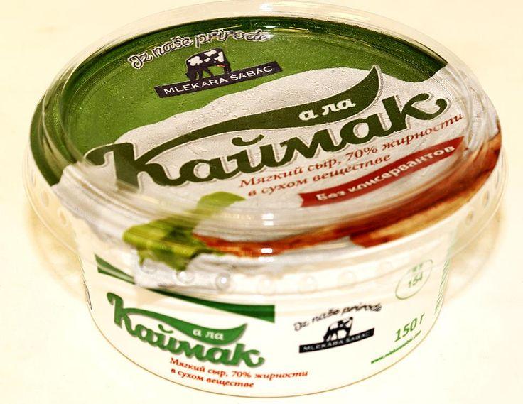 Queso crema cremosa A la Kaymak - especialmente desarrollado por la planta para la preparación de tarta de queso y otros productos de confitería, así como rollos y otros platos japoneses.